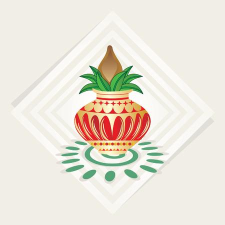 pinnacle: Krem Pinnacle ilustracji z kolorowym tle