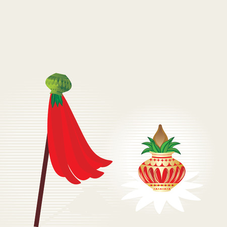 indian family: gudi padwa concept of worship