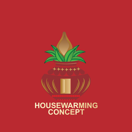 housewarming: housewarming concept with pinnacle