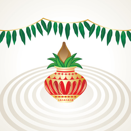 pinnacle: hindu worship concept with pinnacle and leaf