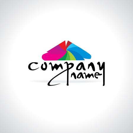 designer clothes: company logo idea concept