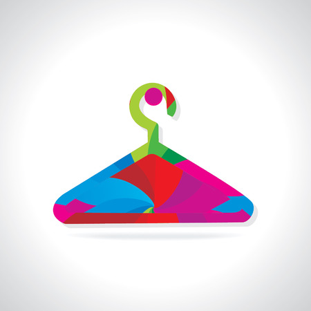 abstract colorful hanger Vector