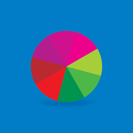 colorful circle abstract Vector