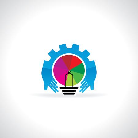 engineering gear care idea concept