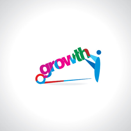 metaphorical: people holding growth concept