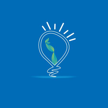 creative bulb idea concept vector Vector