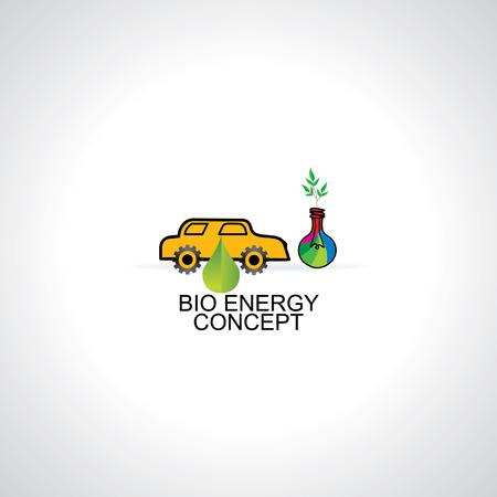 bio energy: bio energy concept idea vector