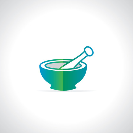mortar and pestle: mortar and pestle vector
