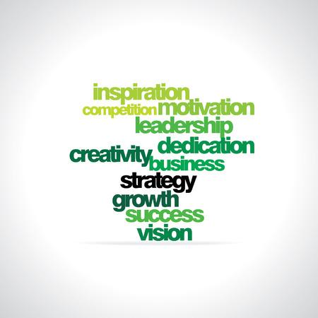 dedicate: many concept vector illustration