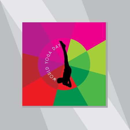 yoga outside: yoga posture