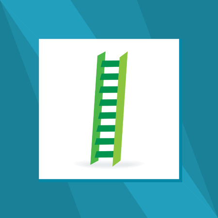 ascent: stairs symbol vector