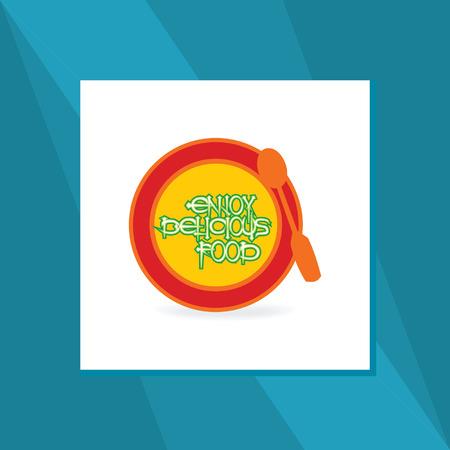 food plate: food plate vector