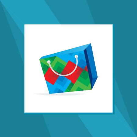 blockhead: creative shopping vector