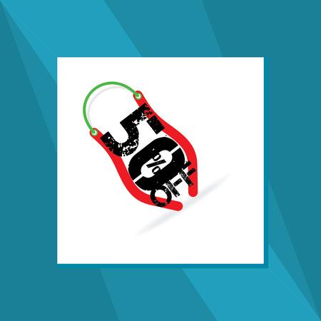 blockhead: sale discount bag concept
