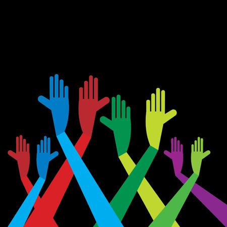 yearn: standing hands idea