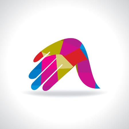 onwards: colorful left hands