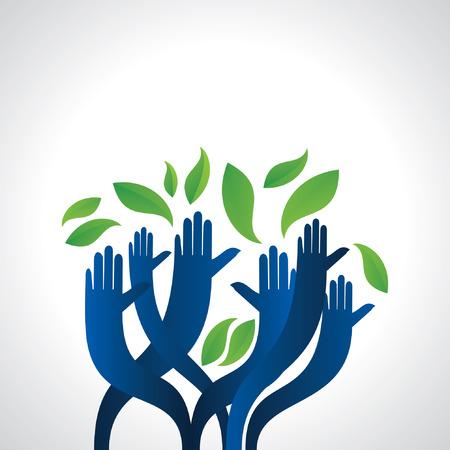 manos apelan ahorro verde