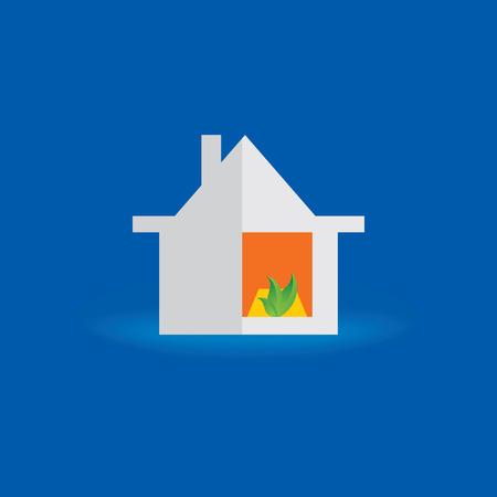 housewarming: dream home housewarming concept