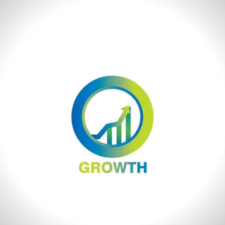 growth: icon of business growth