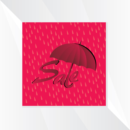 monsoon: monsoon sale with red background