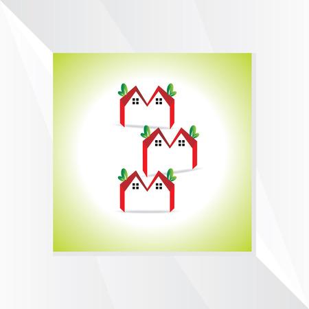symbol vector: creative house symbol vector Illustration