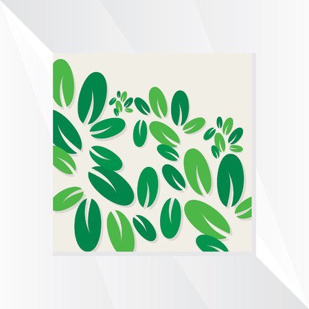 leaf background: green leaf background