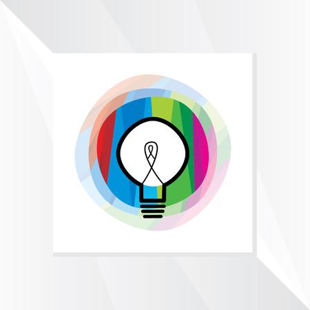 idea bulb vector Ilustração