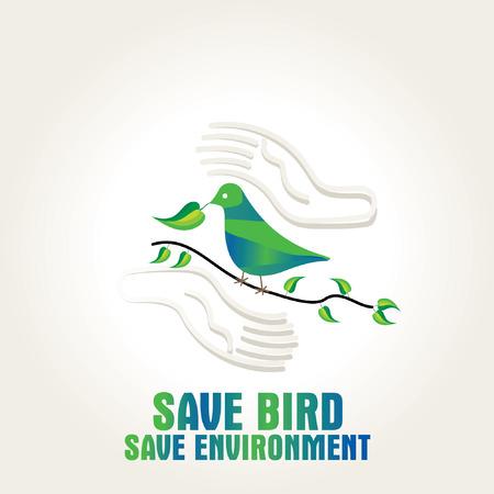 save the environment: save bird save environment