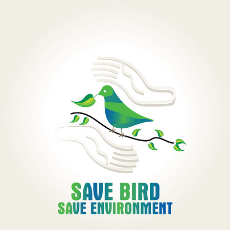 save bird save environment