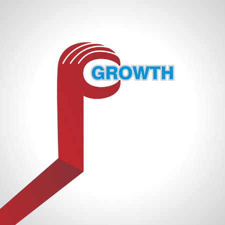 dedicate: business idea growth concept in hand