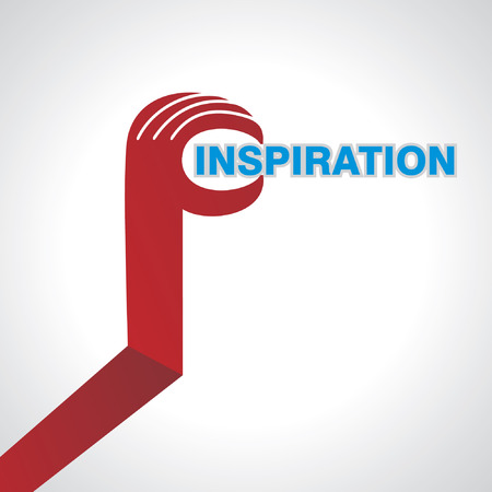 dedication: business idea inspiration concept in hand