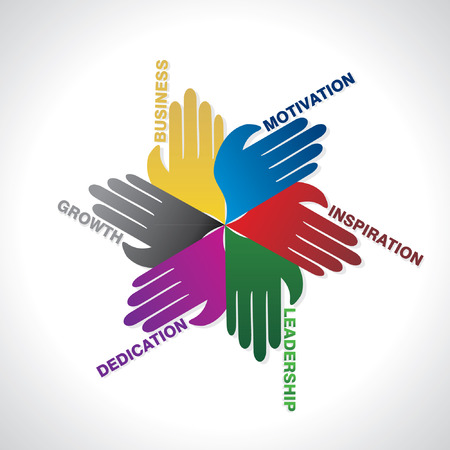 business team work idea concept
