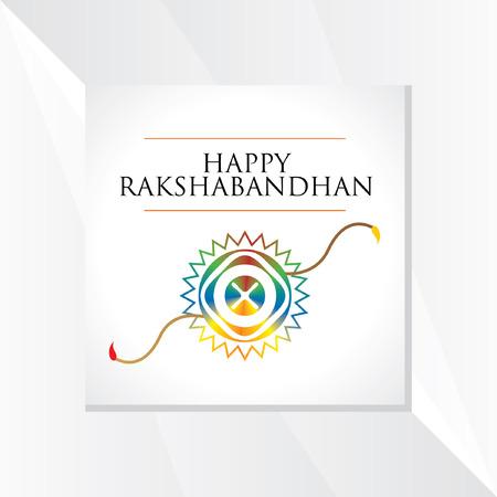 bhai: raksha bandhan festival concept vector Illustration