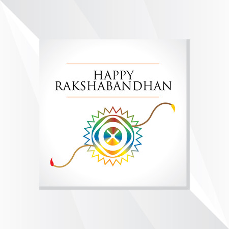 raksha bandhan festival concept vector Illustration