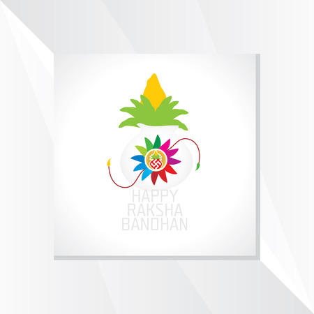 raksha: raksha bandhan festival concept vector Illustration