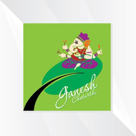 ganesha: ganesha chaturthi festival vector