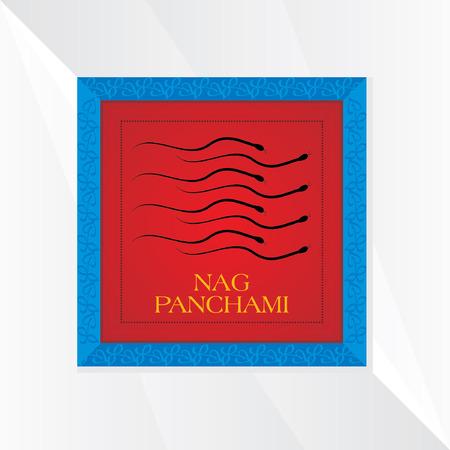 nag: nag panchmi festival concept