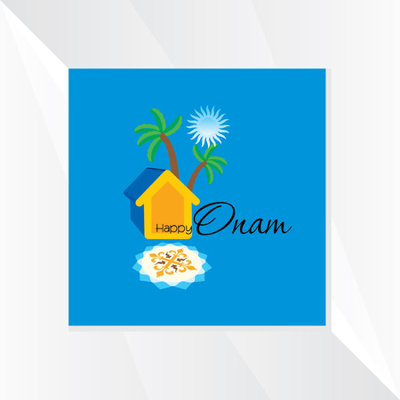 onam: onam festival vector illustration
