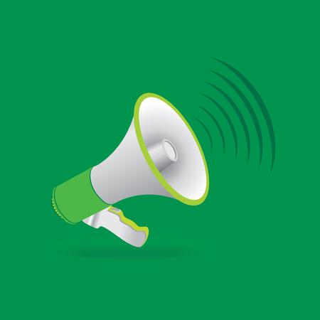 diffusion: creative megaphone vector