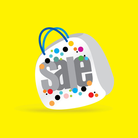 advertising icon: creative sale concept vector Illustration