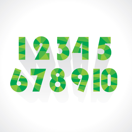 signos matematicos: número abstracto vector numérico