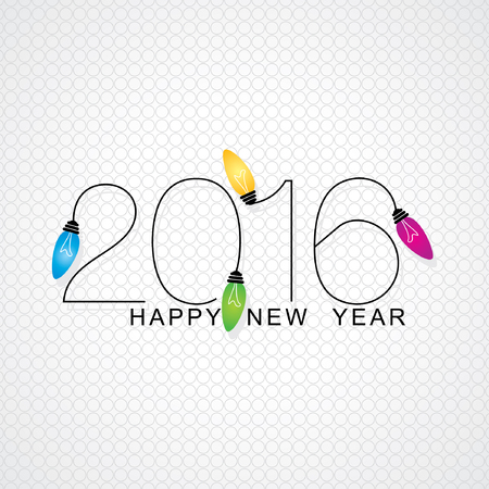 happy new year: happy new year vector Illustration