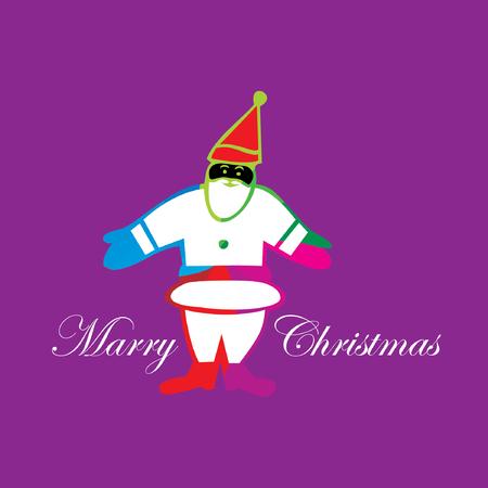 christmas day: santa claus christmas day concept