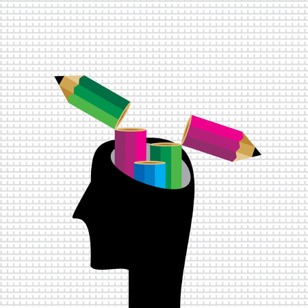 idea: creative pencil idea vector
