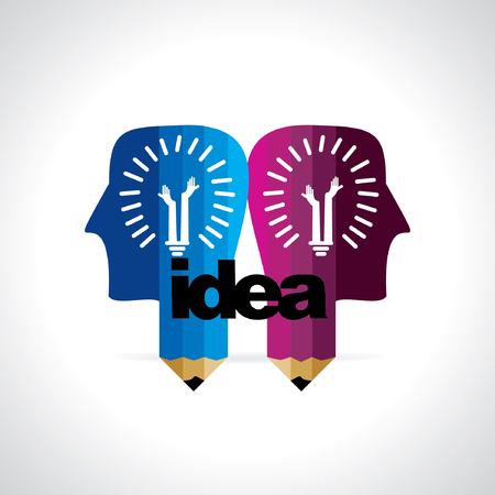 idea: creative idea concept vector