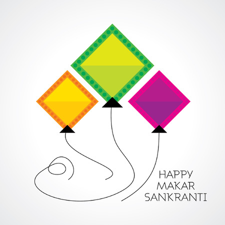 puja: creative concept of Makar sankranti festival