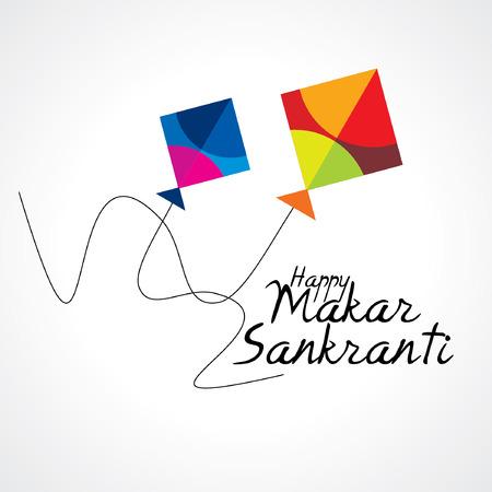 Koncepcja kreatywna Makar festiwalu sankranti