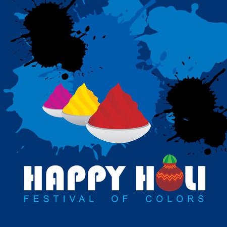 creative holi festival concept
