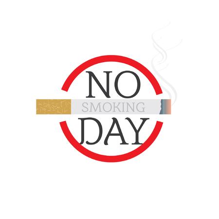 no smoking day concept