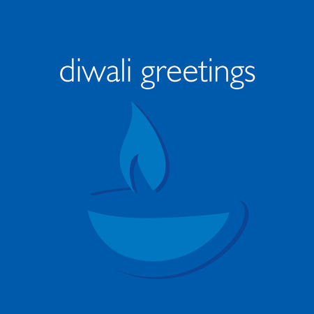 deepak: creative diwali festival concept vector illustration